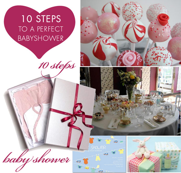 ten steps to a perfect baby shower